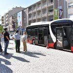 Autocarro 100% elétrico apresentado em Torres Vedras
