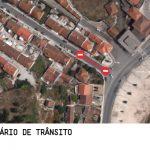 Interdição de circulação de trânsito em troço da Rua da Floresta