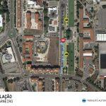 Alteração à circulação na Praça Francisco Sá Carneiro