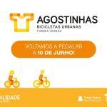 Reposição do funcionamento das bicicletas urbanas Agostinhas