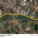 Condicionamento de trânsito na Estrada Nacional 9